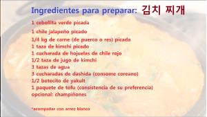 kimchi jjigae ingredientes