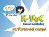 K-Voc #8: Partes del Cuerpo en Coreano